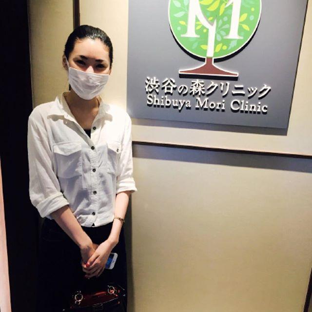 モデルのソンミ様 美肌レーザー治療ジェネシスを受けられました ダウンタイムのないレーザー治療なので、直後からお化粧も可能です#渋谷の森クリニック#ソンミ#美肌