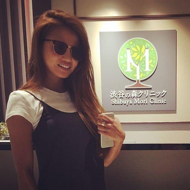 人気モデルの藤後夏子様 レーザートーニングで美肌治療を受けられました️ またのご来院お待ちしております*ˊᵕˋ)੭#渋谷の森クリニック#藤後夏子#トーニング#美肌