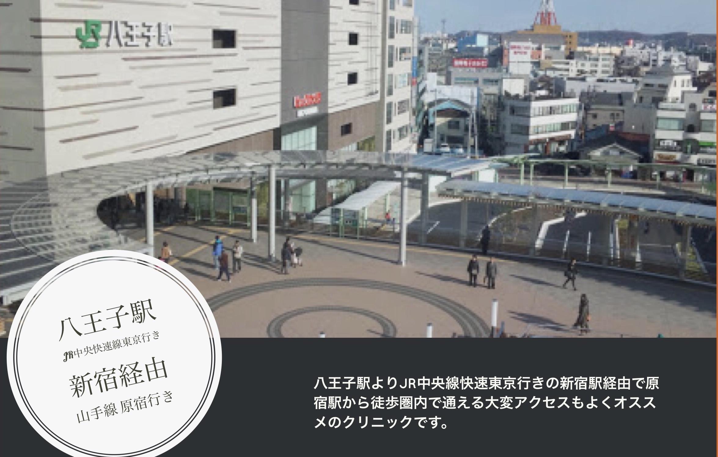 八王子駅からのアクセス方法